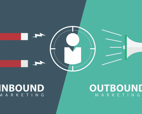 diferença entre inbound marketing e outbound marketing